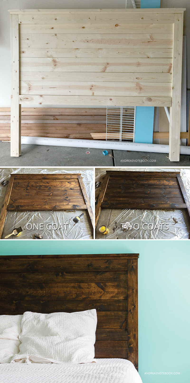 How to make a diy rustic headboard Make your own headboard