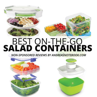Take Salad On The Go- A Review Of Salad Containers