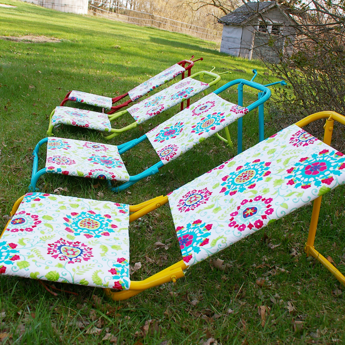 sunloungers makeover