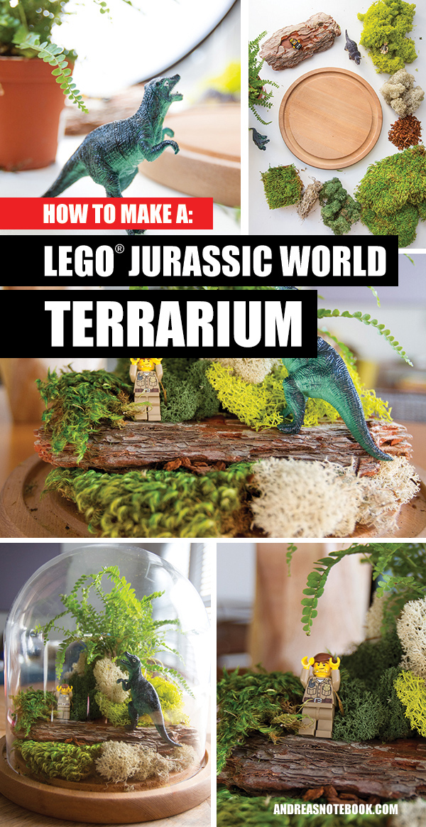 How to make a Jurassic World Terrarium
