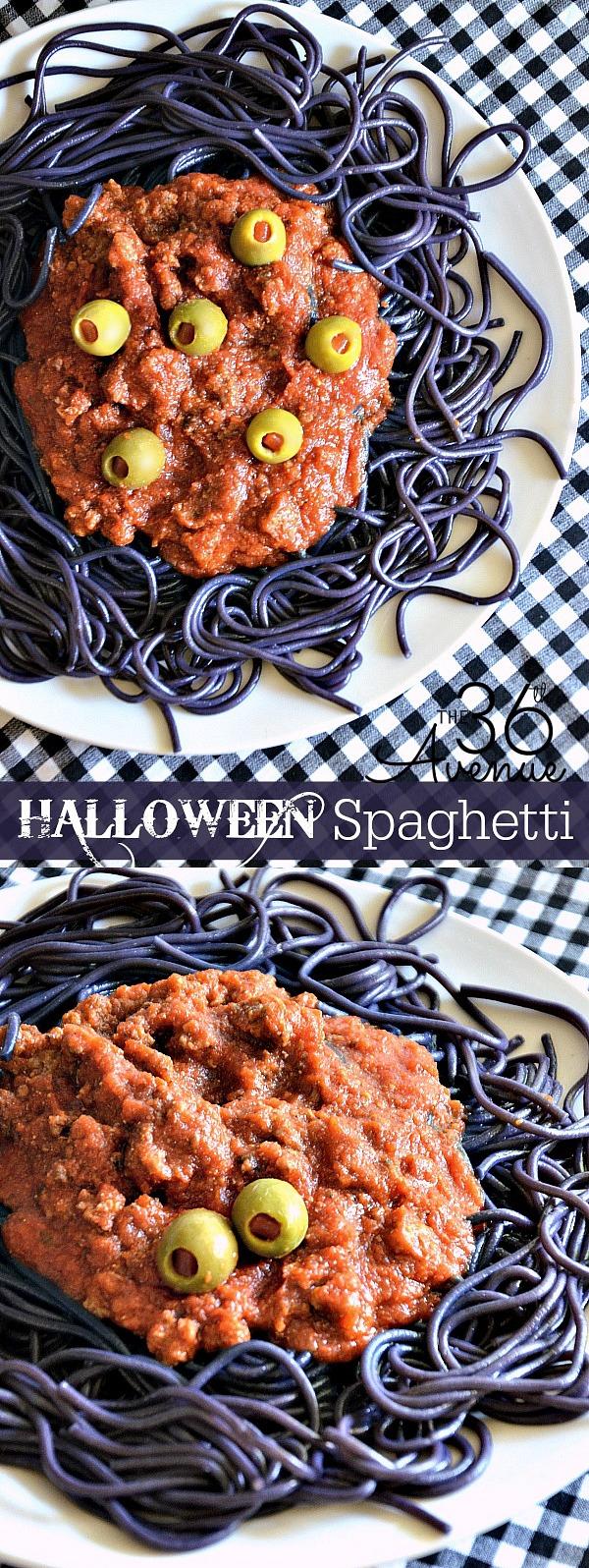 Halloween Spaghetti Recipe