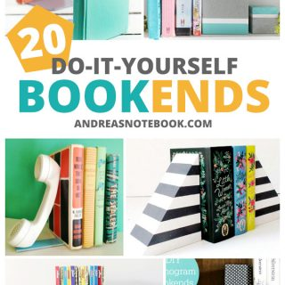20 DIY Bookends You'll Love
