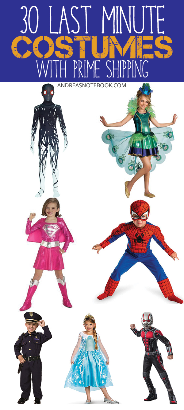 30 Last Minute Costumes for Kids