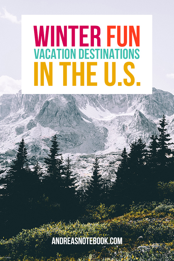 winter vacation destinations in the U.S.