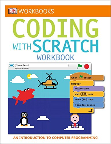 Coding with SCRATCH - workbook for kids to learn to code