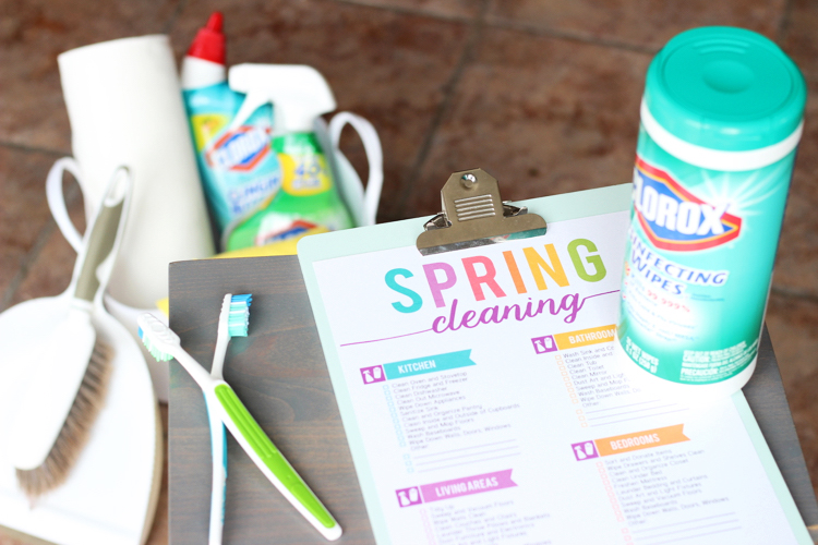 Spring Cleaning Printable