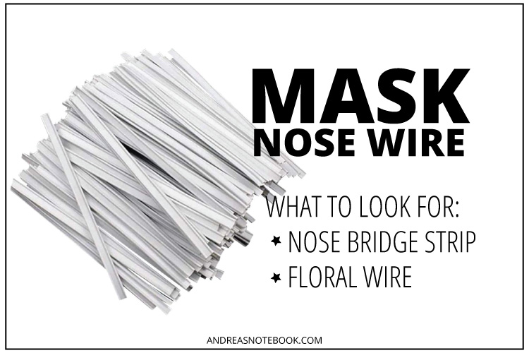 where to buy mask nose wire