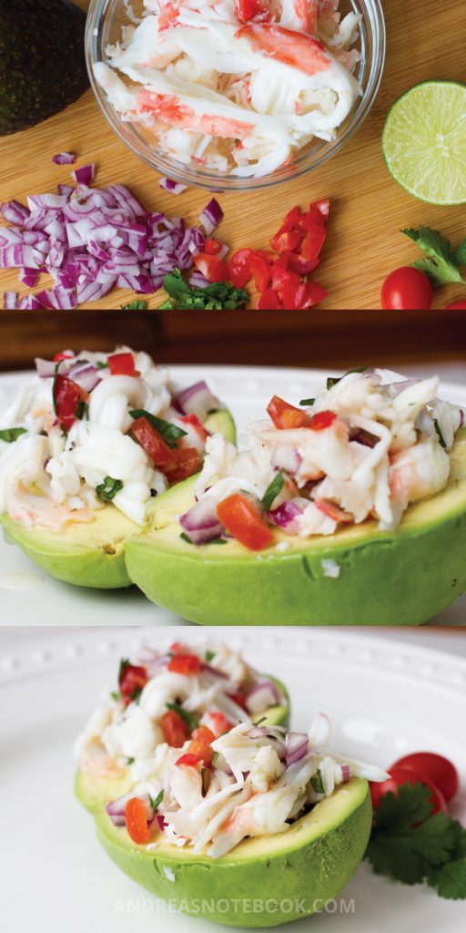 Crab Stuffed Avocado Recipe