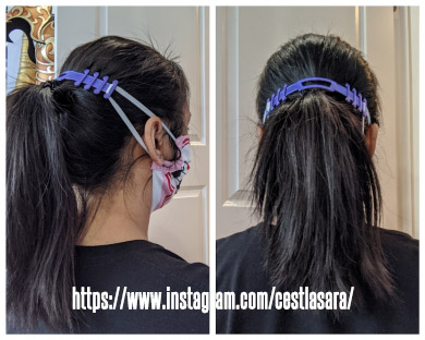 Make a 3D printed mask ear saver for doctors and nurses