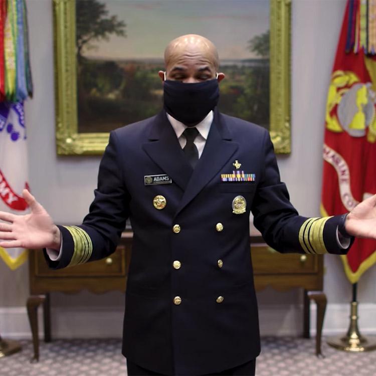 U.S. Surgeon General Face Mask Tutorial