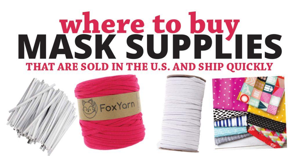buy mask making supplies