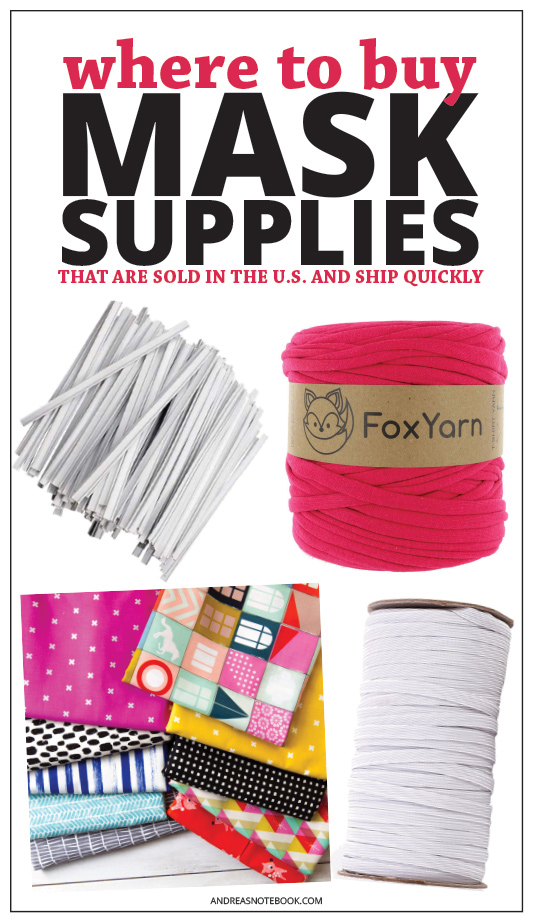 where to buy mask making supplies