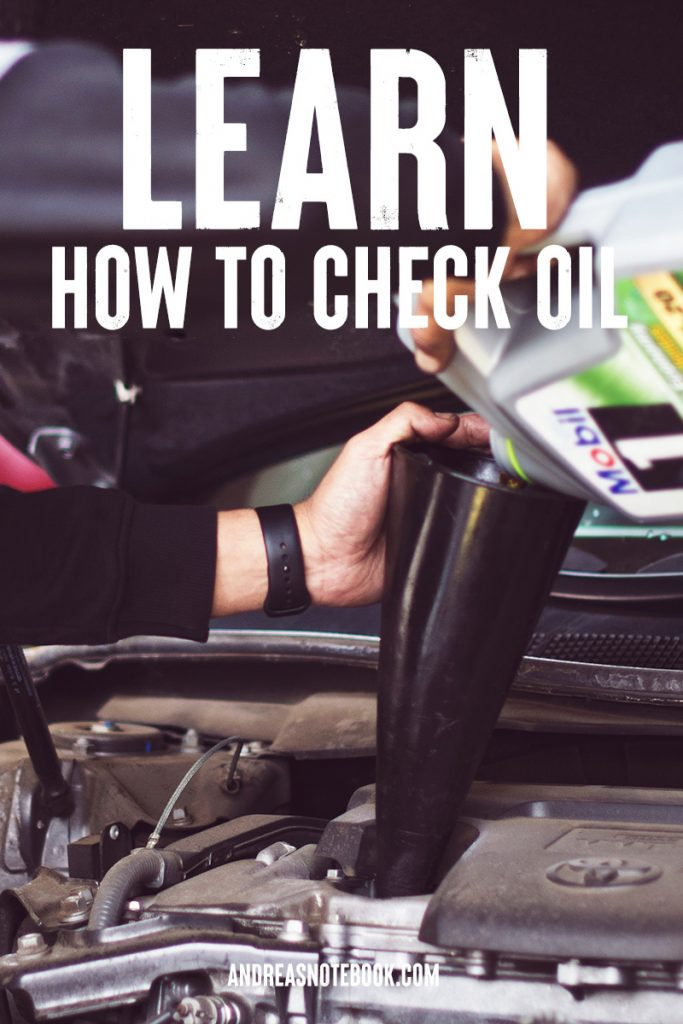 learn how to check car oil