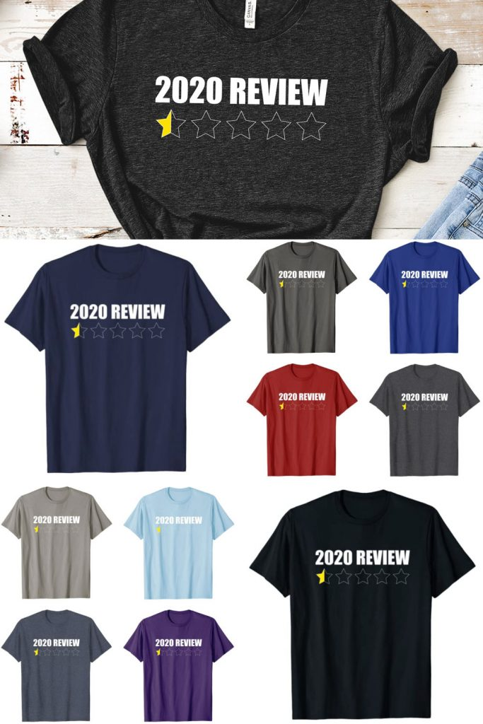 Half Star 2020 Review Funny T-shirt