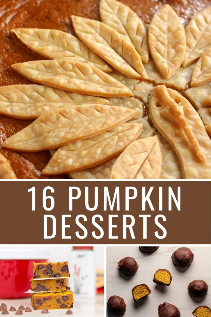 16 pumpkin dessert recipes pie truffles cookies