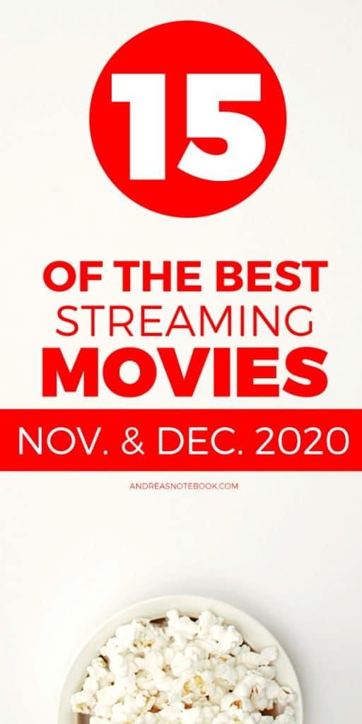 best streaming movies november december 2020 popcorn