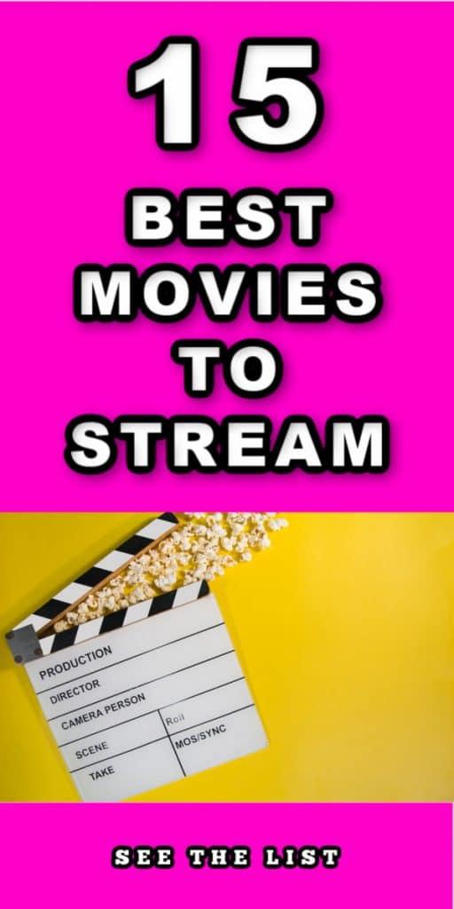 15 Must Watch Movies! fuscia yellow pink popcorn