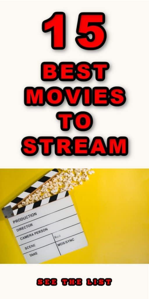 15 Must Watch Movies! white yellow popcorn movie