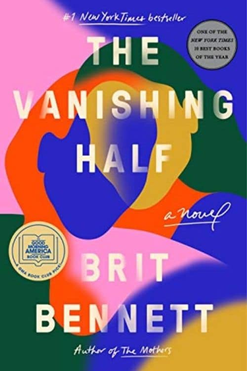 book cover of The Vanishing Half by Brit Bennett