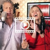 Penn and Kim Holderness sing
