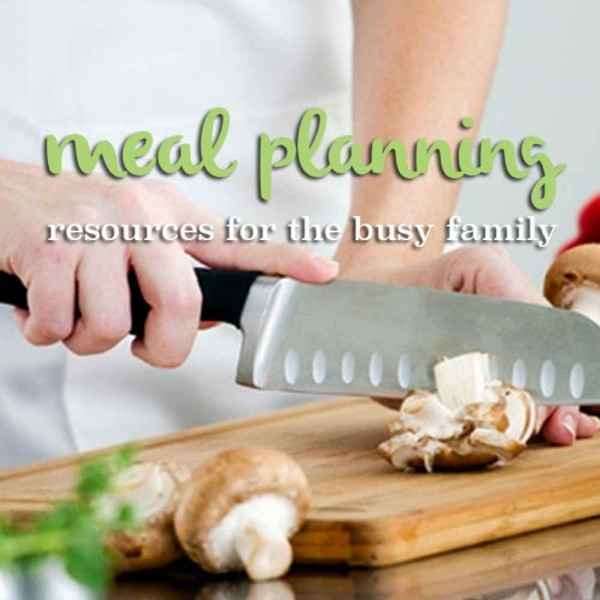 """meal planning resources for the family"""
