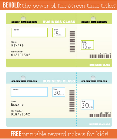 printable blank tickets